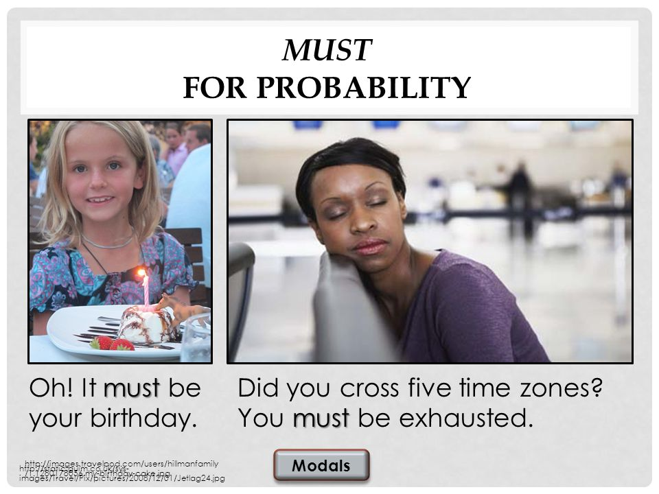 MUST FOR PROBABILITY must Did you cross five time zones.