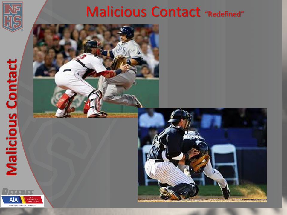 New Rules 2013 Malicious Contact Malicious Contact Redefined