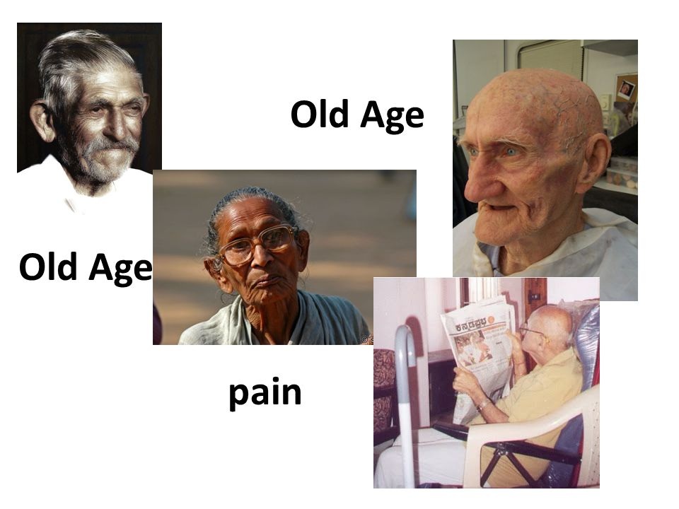 Old Age pain
