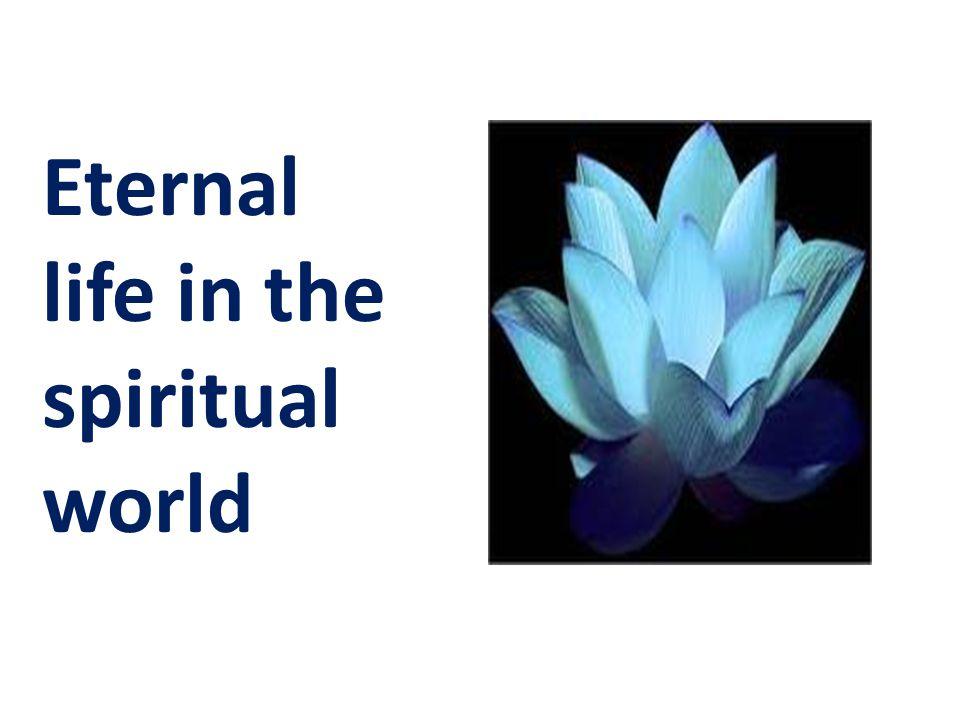 Eternal life in the spiritual world