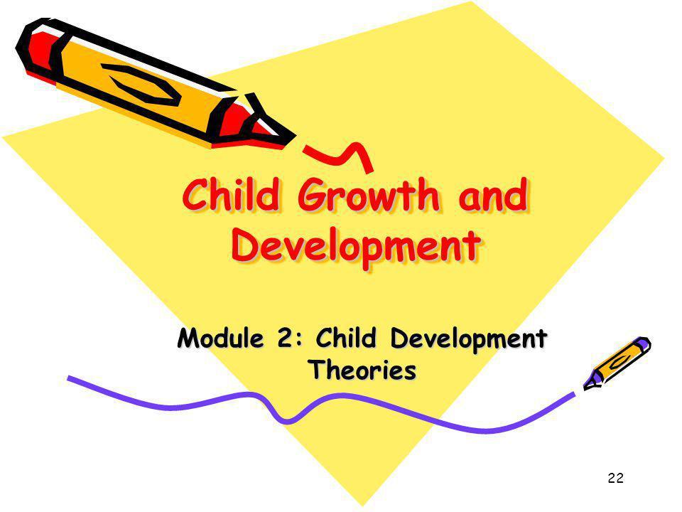 22 Child Growth and Development Module 2: Child Development Theories