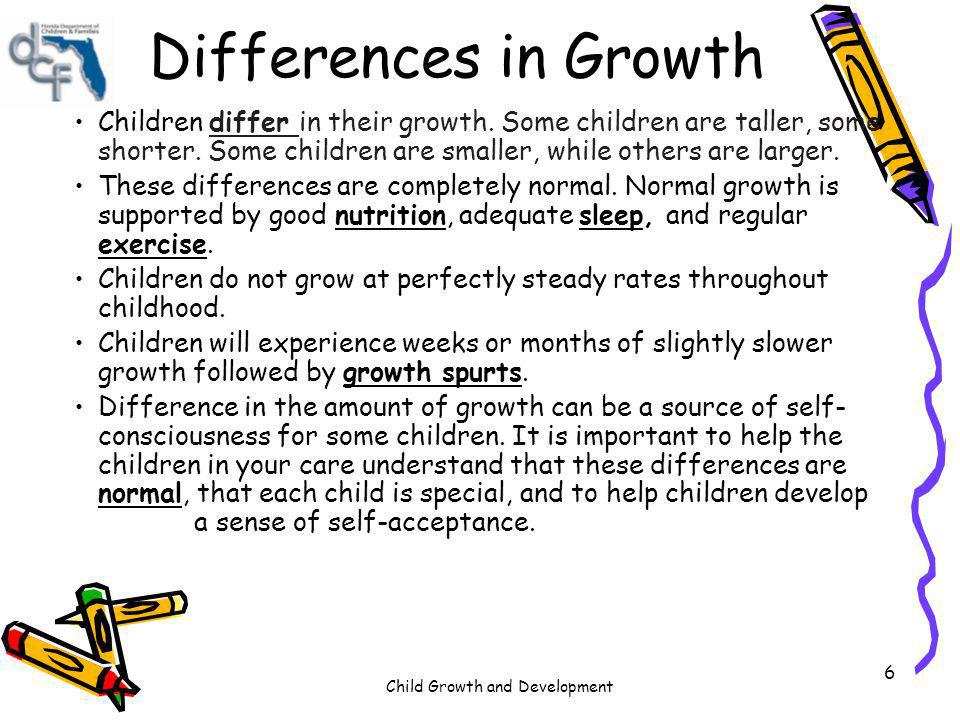 Child Growth and Development 97 Play contributes positively to child development.