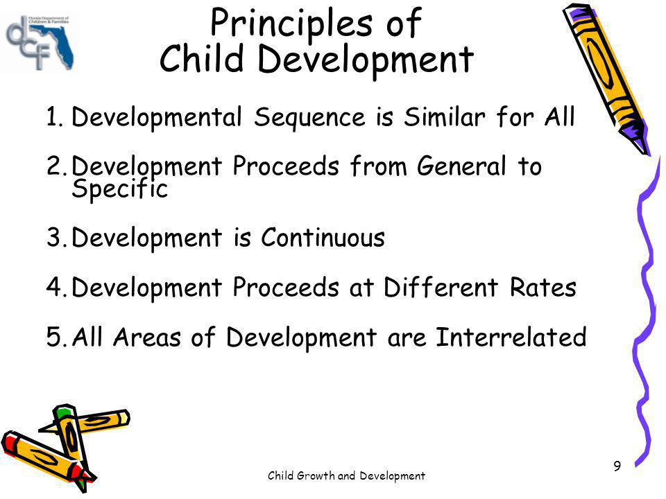 Child Growth and Development 80 Key Point The Cognitive Development & General Knowledge Domain involves the childs intellectual or mental abilities.
