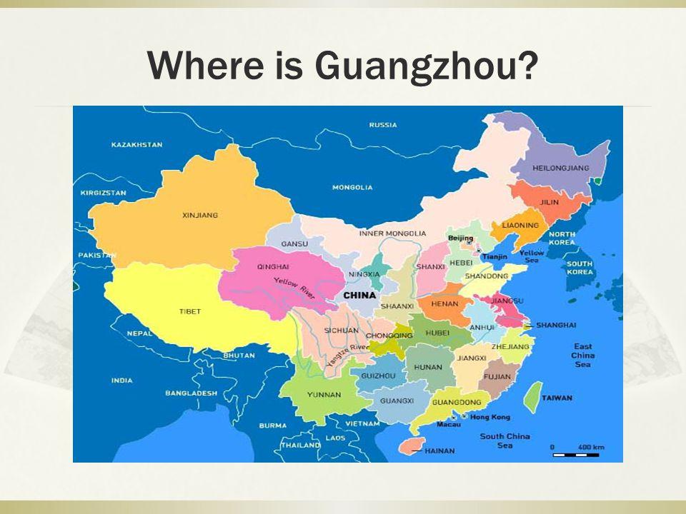 Where is Guangzhou?