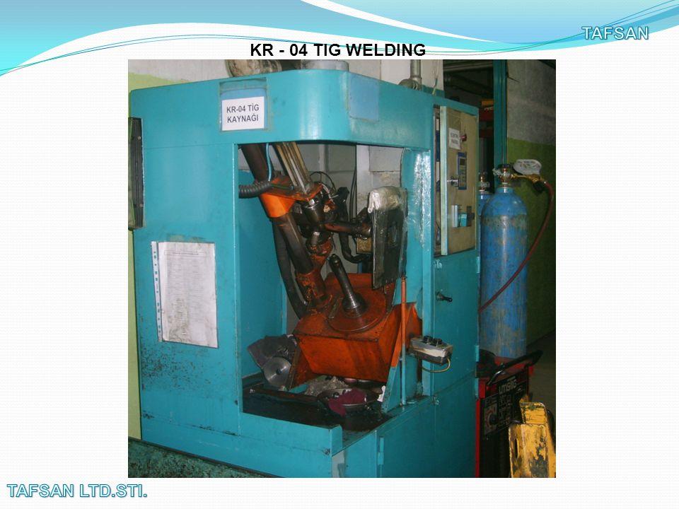 KR - 04 TIG WELDING