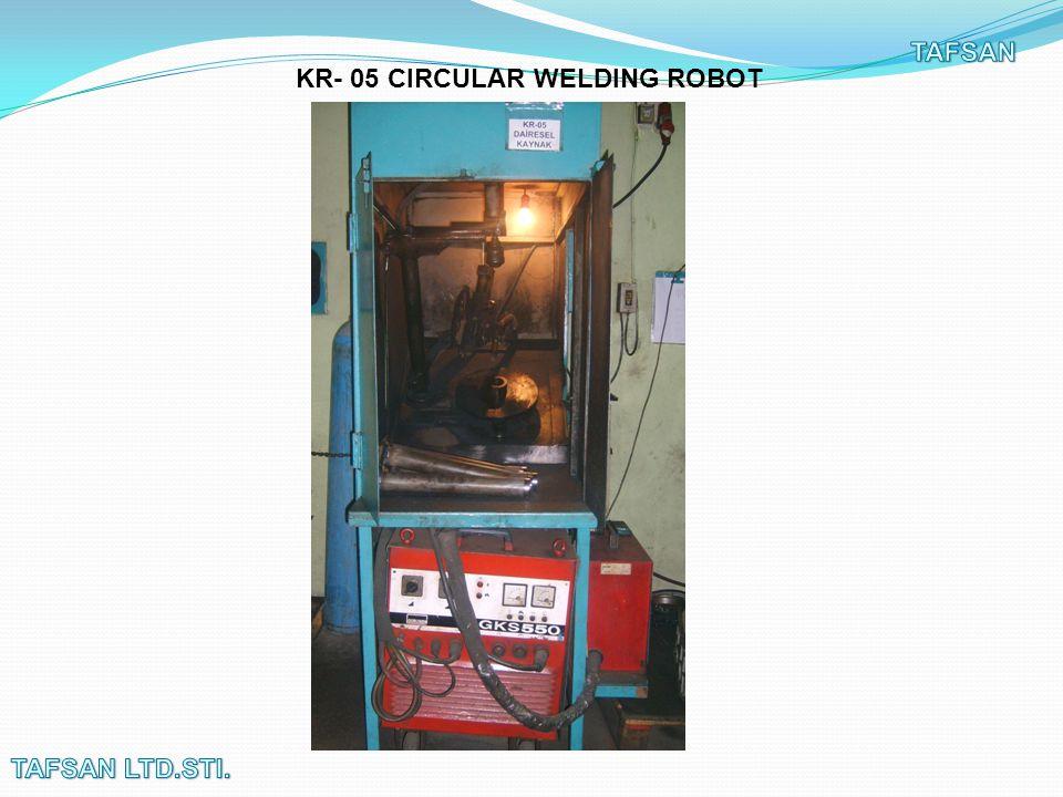 KR- 05 CIRCULAR WELDING ROBOT