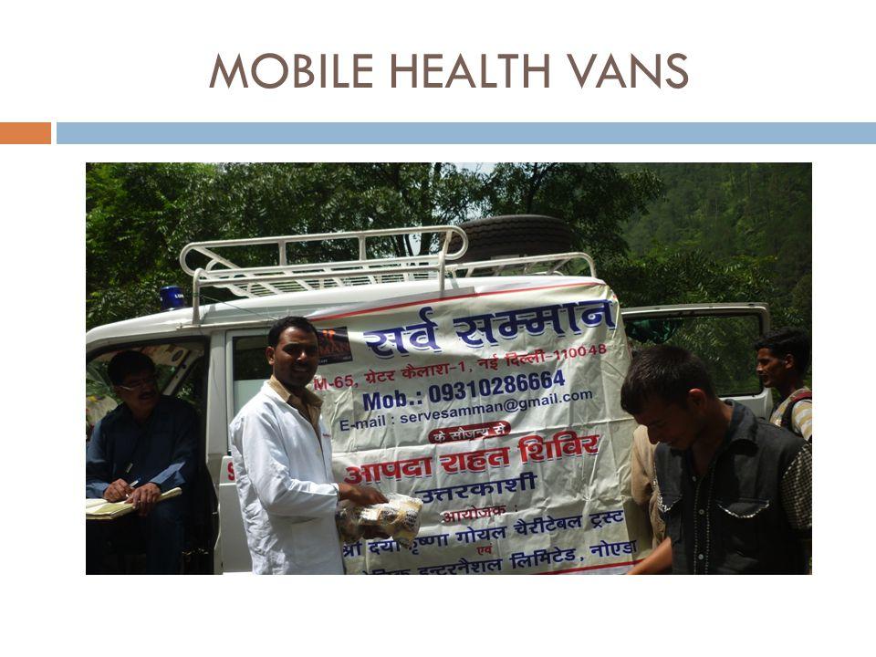 MOBILE HEALTH VANS