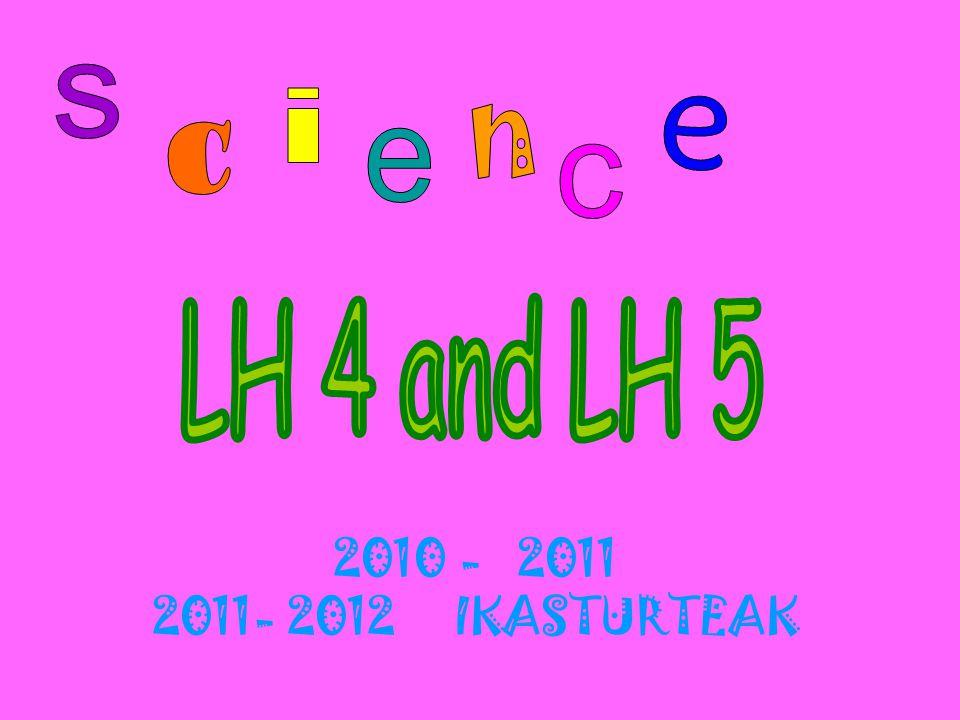2010 - 2011 2011- 2012 IKASTURTEAK