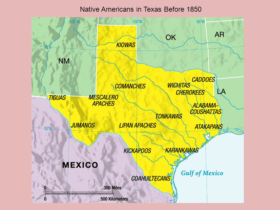 Native Americans in Texas Before 1850