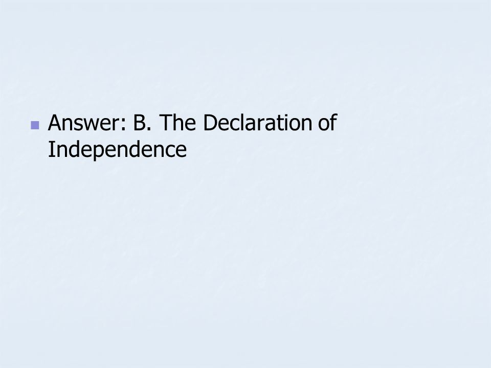Sample Question John Lockes theory that all people have basic natural rights directly influenced A. A. The Proclamation of 1763 B. B. The Declaration