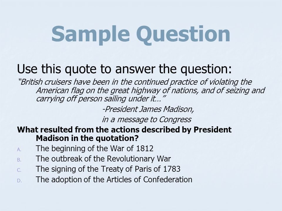 Answer C. It established the U.S. policy of preventing other nations from interfering in Latin America.