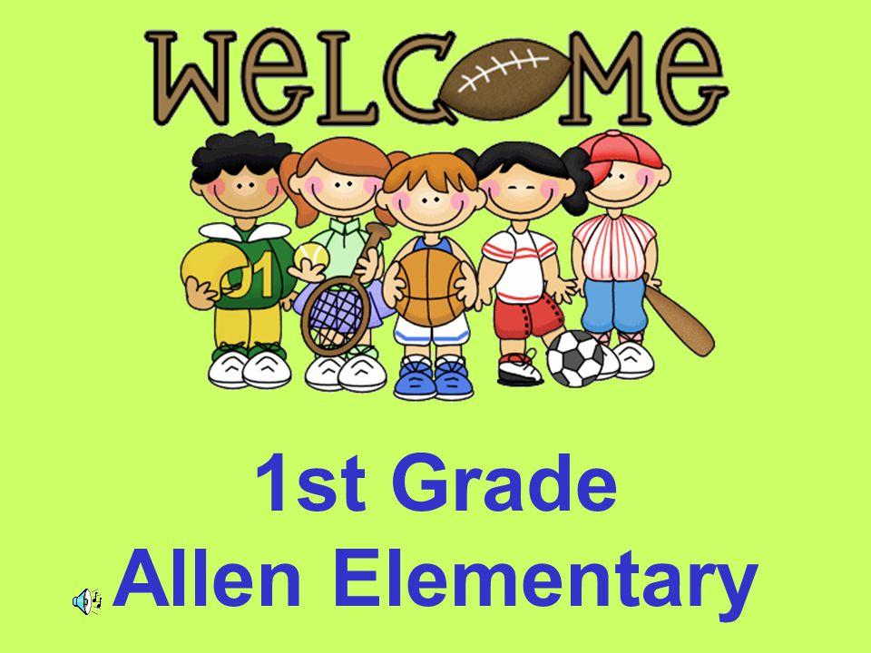 1st Grade Allen Elementary