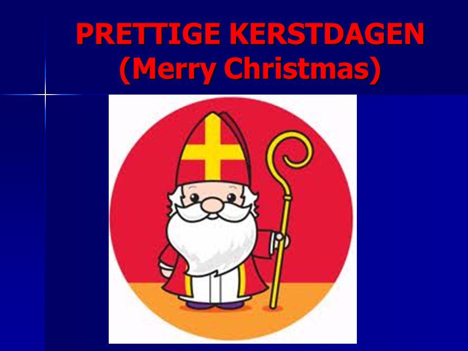 PRETTIGE KERSTDAGEN (Merry Christmas)