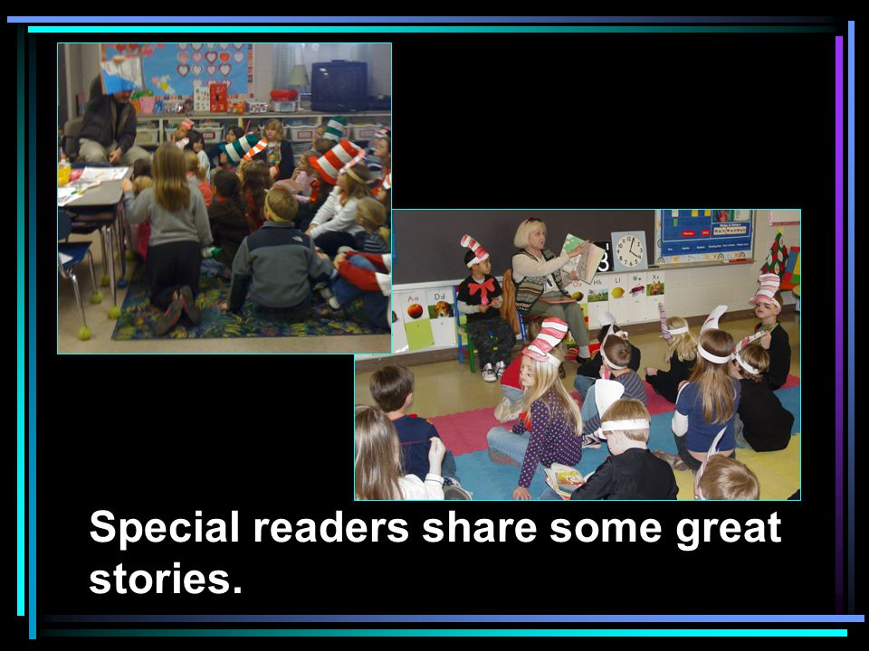 Special readers share some great stories.