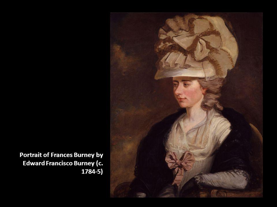 Portrait of Frances Burney by Edward Francisco Burney (c. 1784-5)