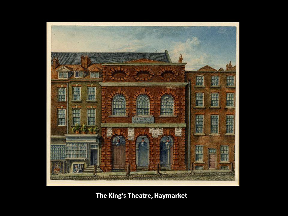 The Kings Theatre, Haymarket