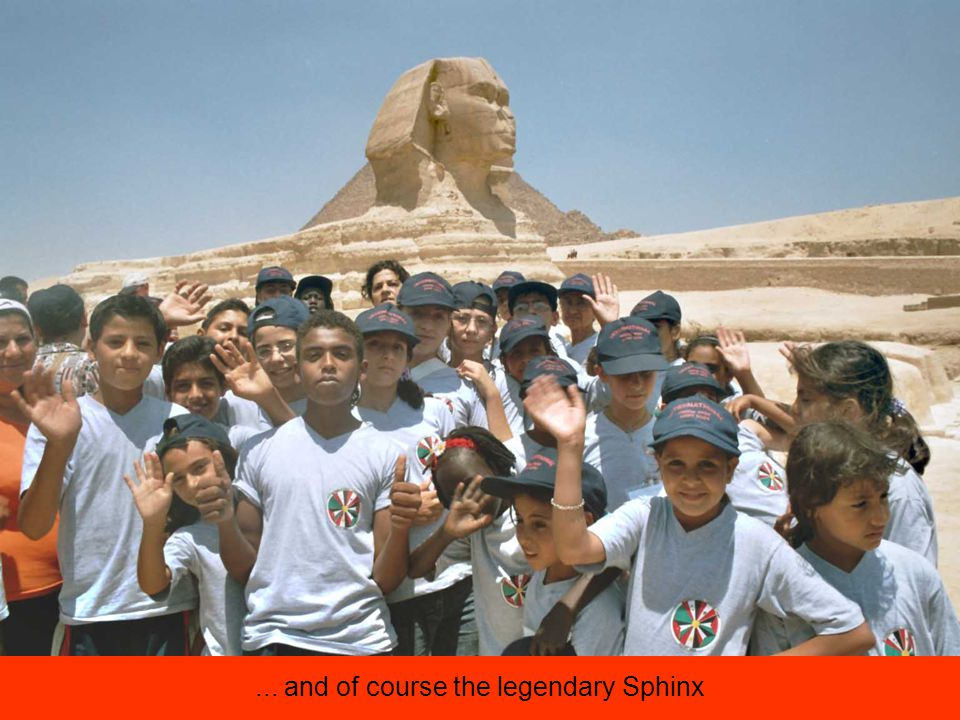 ... and of course the legendary Sphinx