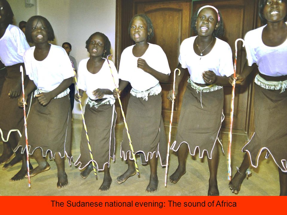 The Sudanese national evening : The sound of Africa
