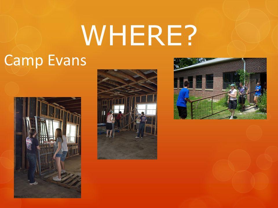 WHERE Camp Evans