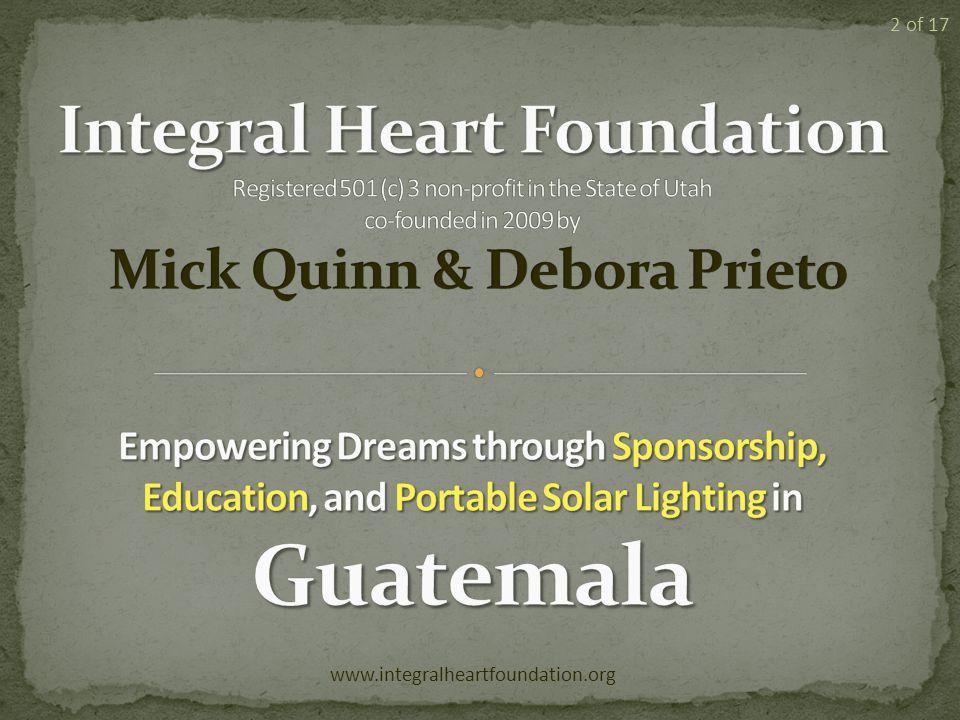 www.integralheartfoundation.org 2 of 17