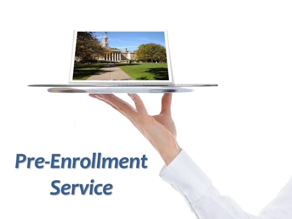 Pre-Enrollment Service