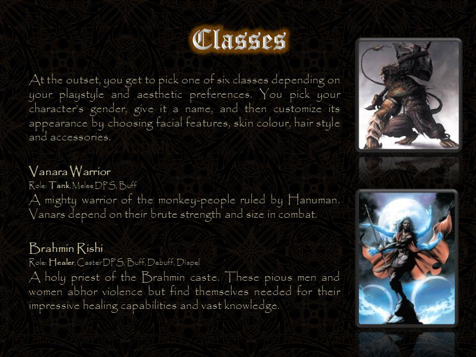 At the outset, you get to pick one of six classes depending on your playstyle and aesthetic preferences.