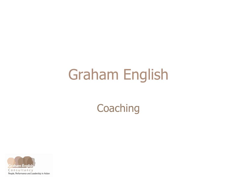 Graham English Coaching