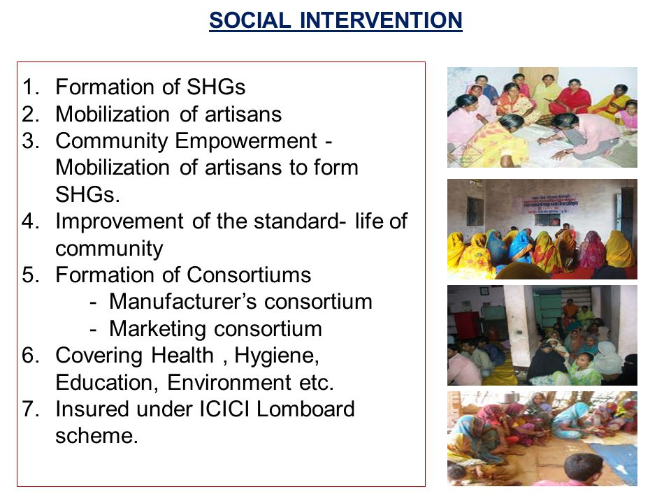 PROPOSED INTERVENTION A.To increase no. of stakeholder & artisans.