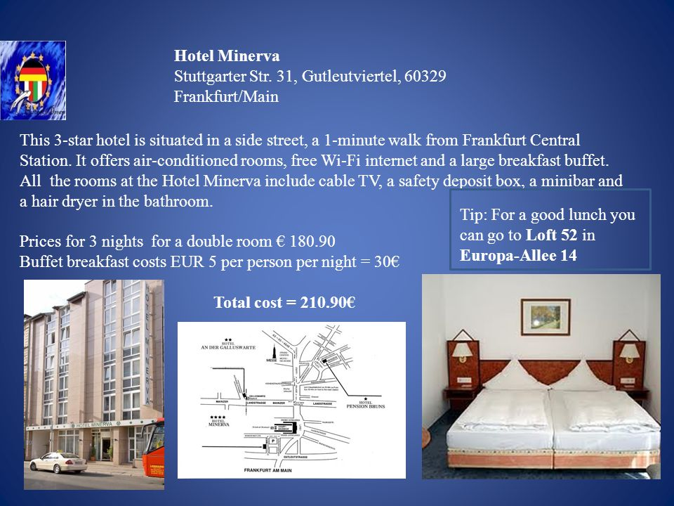 Hotel Minerva Stuttgarter Str.