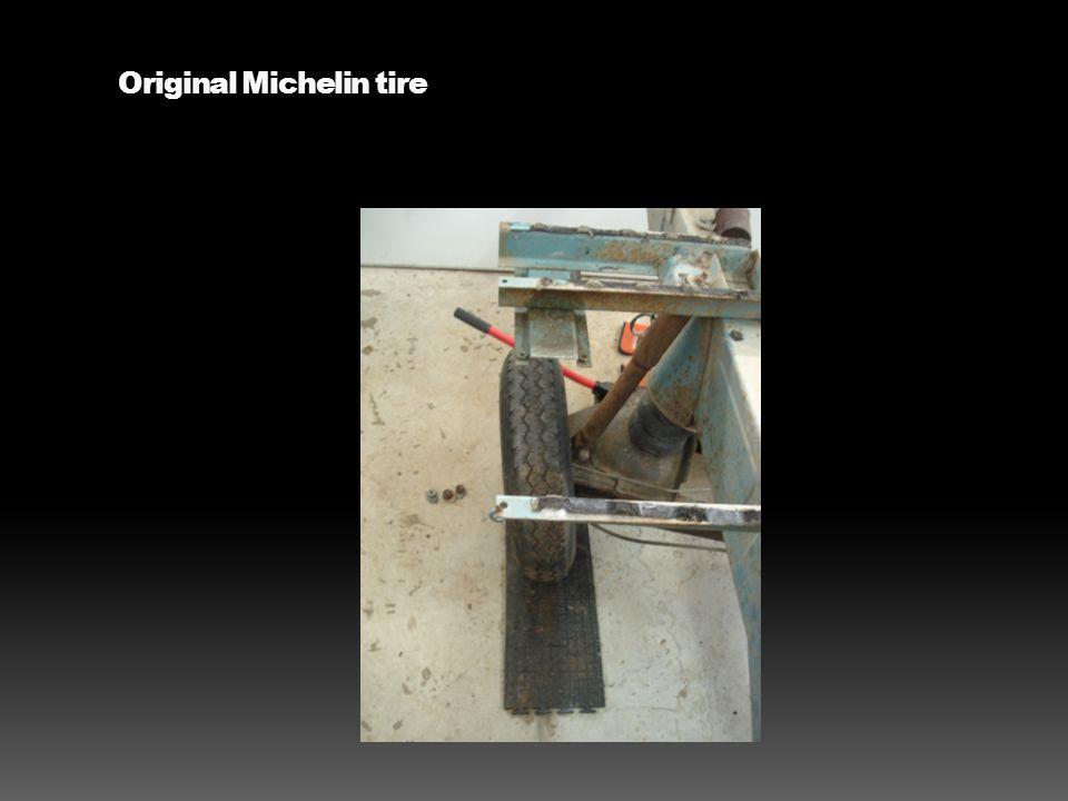 Original Michelin tire