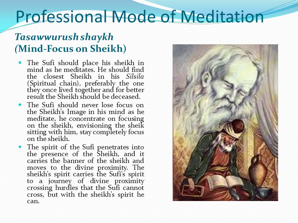 Professional Mode of Meditation This is the best mode and the achieving of excellence.