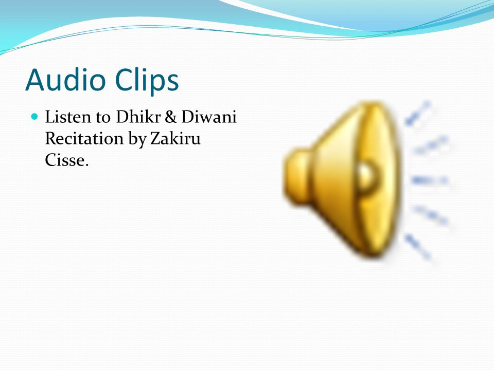 Audio Clips Here is a confession of a medical doctor who was once a Wahhabis that believes Sufism is Heresy, but was surprised to find Sufis before his eyes breathing their last with Kalimatush shahada which prophetic hadith established anyone whose last word happens to be it will enter paradise.