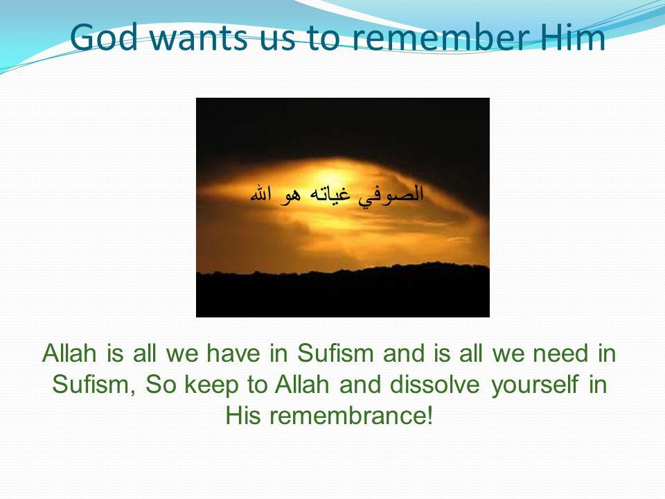 God wants us to remember Him Sufis (Members of Tijjania Sufi Order) Reciting New Year Hailala in Bauchi town