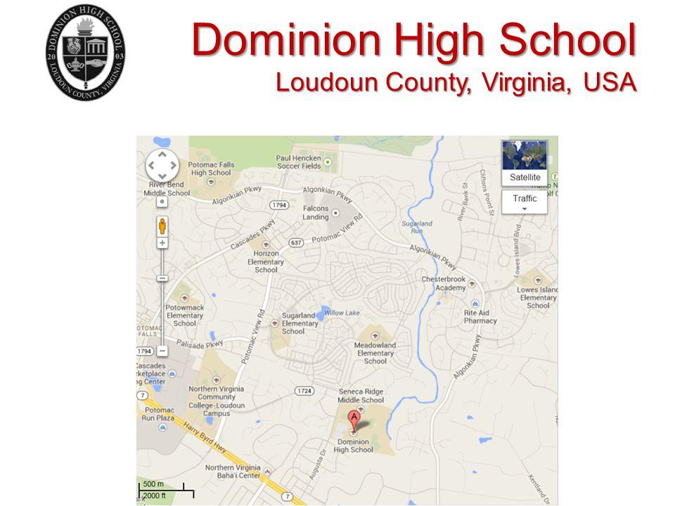 Dominion High School Loudoun County, Virginia, USA