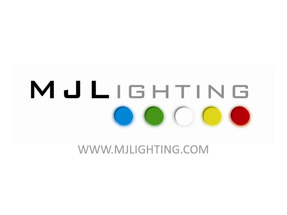 Lighting Applications Peter A Byrne Lighting Consultant MJ Lighting Technology Ltd