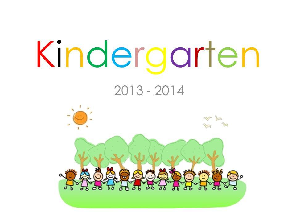 KindergartenKindergarten 2013 - 2014
