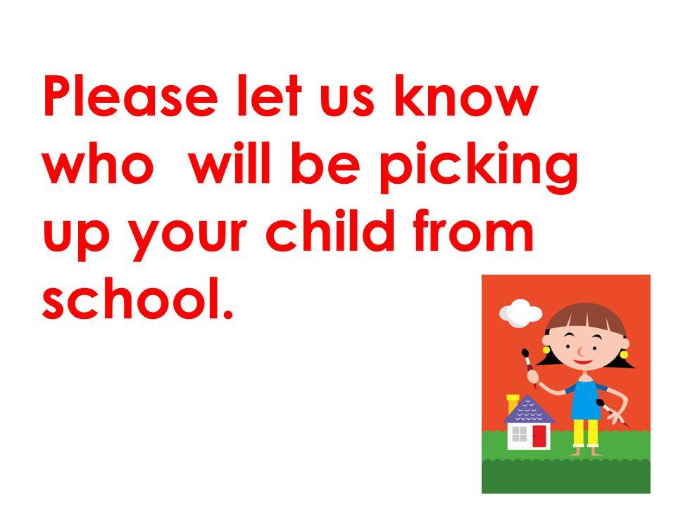 Kindergarten children use the side gate.
