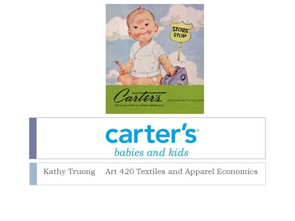 Kathy Truong Art 420 Textiles and Apparel Economics
