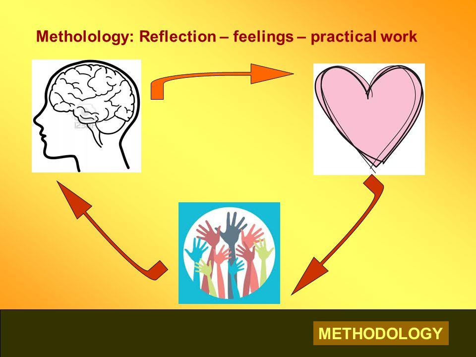METHODOLOGY Metholology: Reflection – feelings – practical work