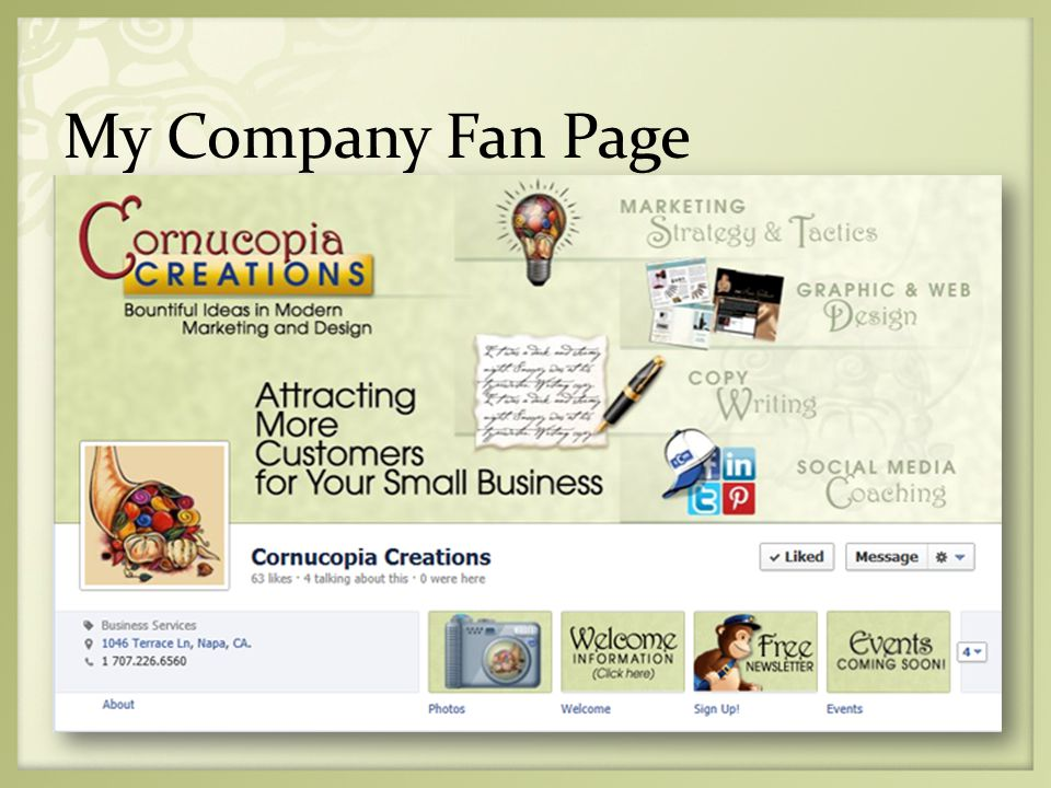 My Company Fan Page