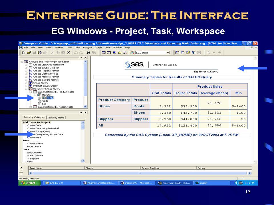 14 Simulate SAS Display Manager