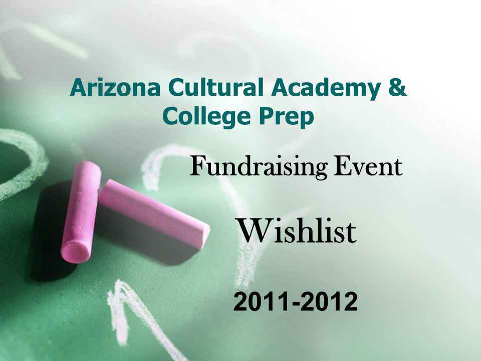 Why the Wishlist.ACA has grown tremendously with your help and support.