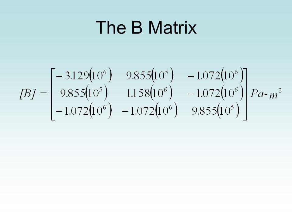 The B Matrix