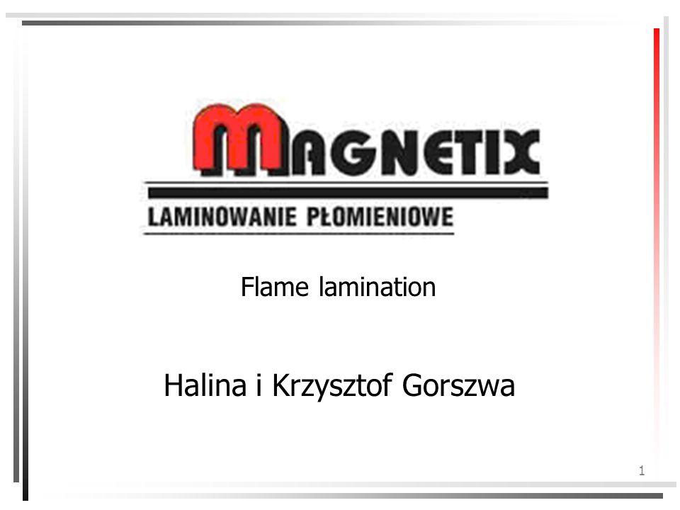 1 Flame lamination Halina i Krzysztof Gorszwa