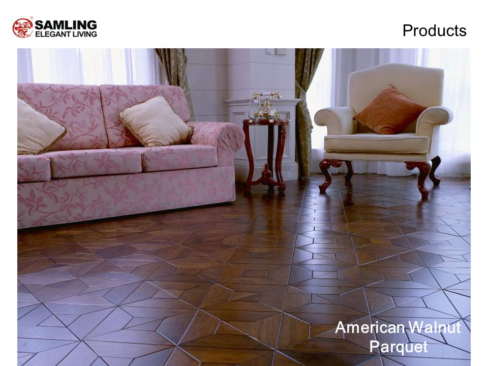 American Walnut Parquet Products