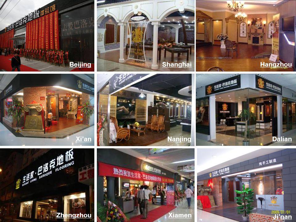 Nanjing Zhengzhou DalianXian Xiamen Beijing Jinan ShanghaiHangzhou