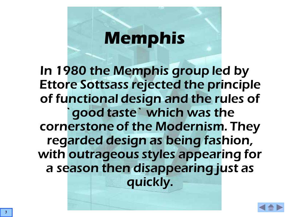 Memphis Lido 1982 – Michelle De Lucchi Material: Wood, Plastic Laminate, Metal & Fabric Sofa This squat Lido sofa mixes different historical styles.