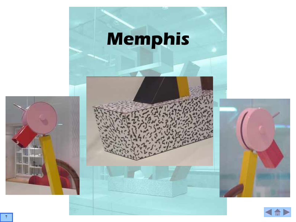 Memphis Piccadilly 1982 – Gerald Taylor Small Lamp Material: Plastic Laminate & Metal Gerald Taylor was born in Glasgow and moved to Milan in 1982 after studying at the Royal Academy.
