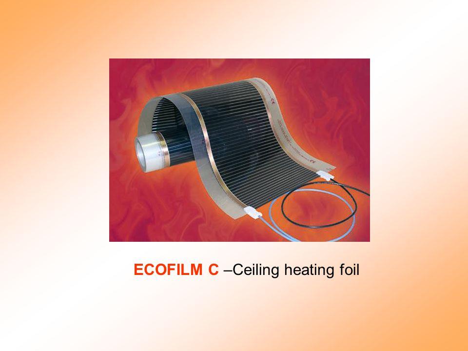 ECOFILM C –Ceiling heating foil