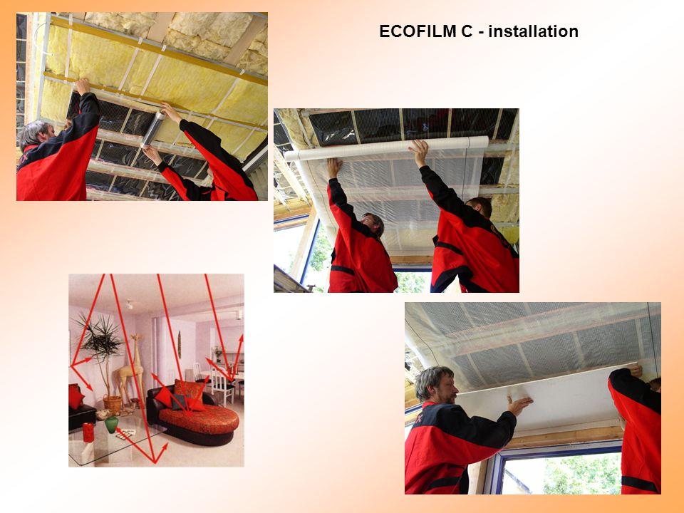 ECOFILM C - installation